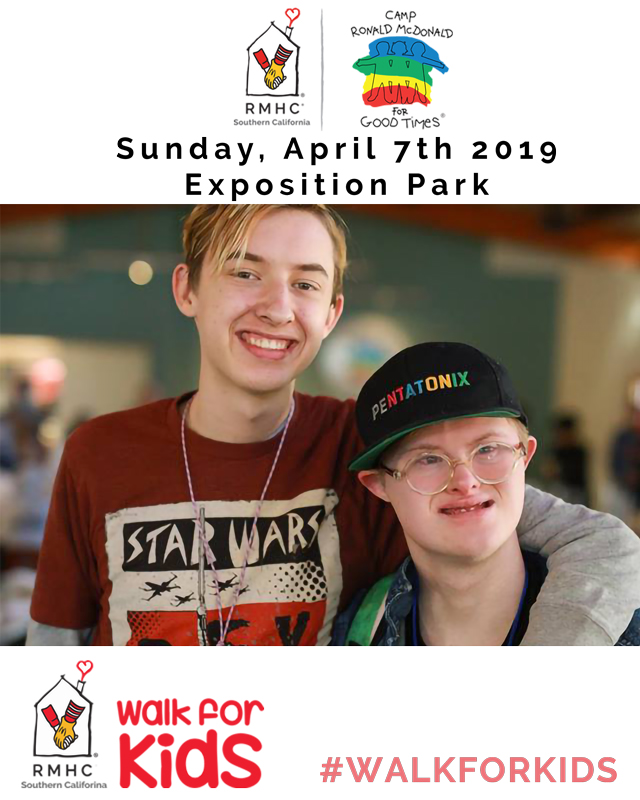 Walk For Kids 2019 - Camp Ronald McDonald for Good Times