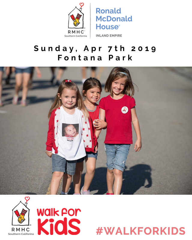 Walk for Kids 2019 - Inland Empire