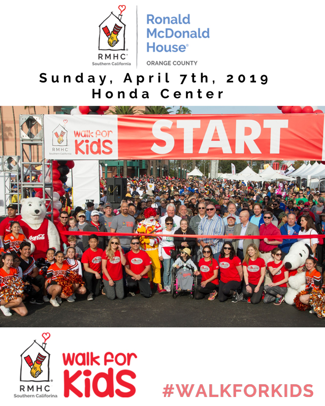 Walk for Kids 2019 - Orange County